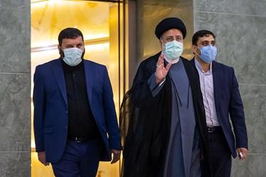 آیت الله سید ابراهیم رئیسی رئیس جمهور در دیدار نخست وزیر عراق