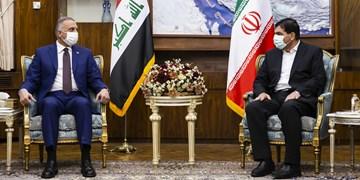دیدار نخست وزیر عراق با محمد مخبر