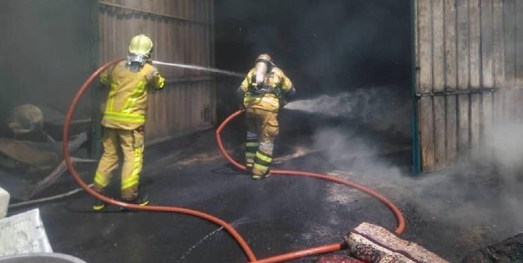 آتش به کارخانه پنبه کاشمر یک میلیارد تومان خسارت زد