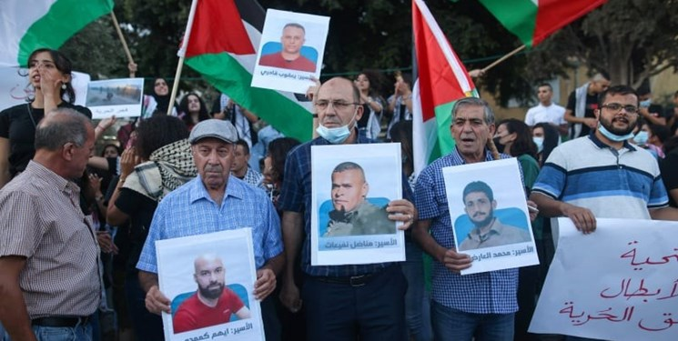 جان ۴ اسیر فلسطینی در بازداشتگاه رژیم صهیونیستی در معرض خطر جدی است