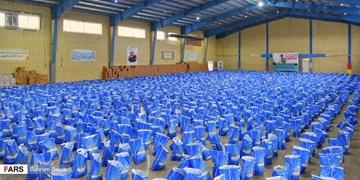 توزیع بیش از یک میلیارد بسته کمک معیشتی و بهداشتی توسط سپاه خوزستان