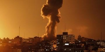 حمله هوایی رژیم صهیونیستی به شمال و جنوب غزه