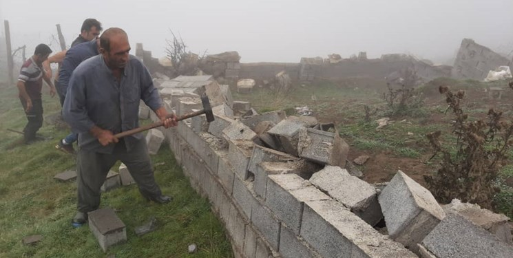 آزادسازی ۵ هکتار اراضی موقوفات بندپی از چنگال متجاوزان