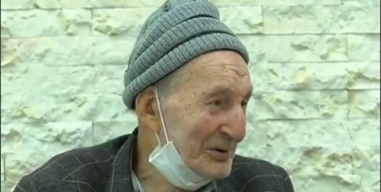 پیرغلامی که در اوج غربت درگذشت و به خاک سپرده شد +فیلم
