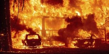 ماینر خانه را در یاسوج به آتش کشید+فیلم