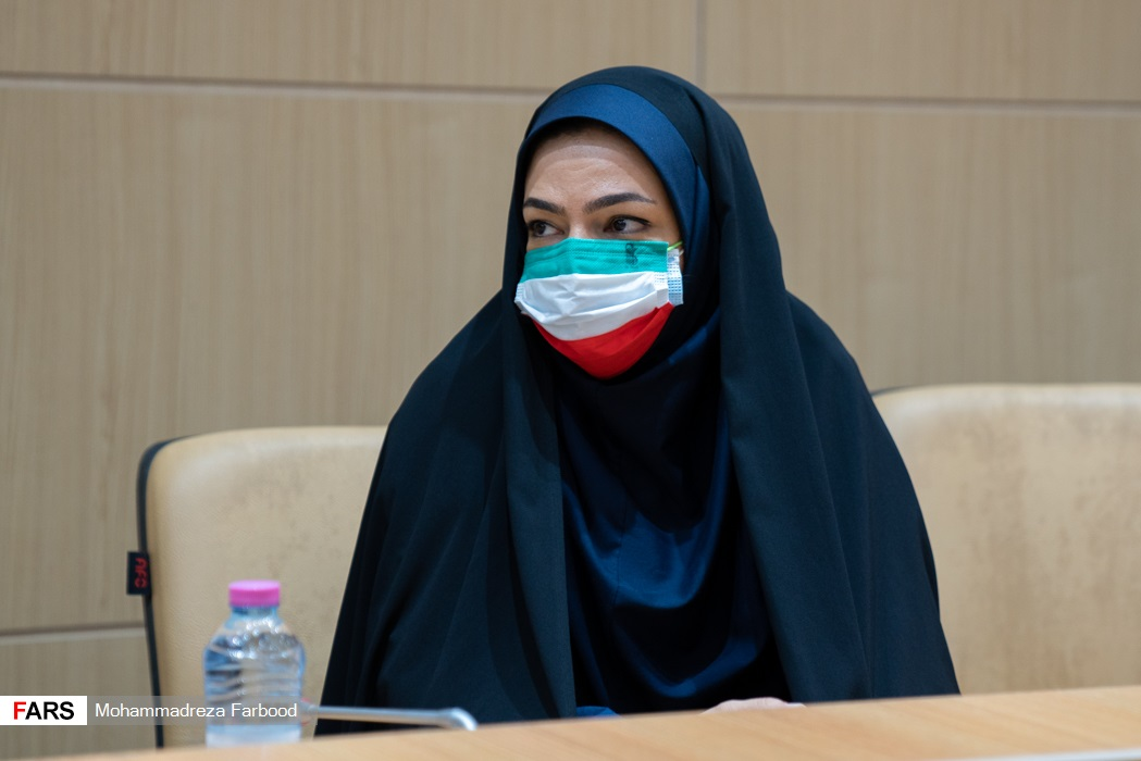 سمیرا ارم ورزشکار حاضر در پارالمپیک 2020 توکیو /  سالن اجتماعات ستاد دفتر امام جمعه شیراز