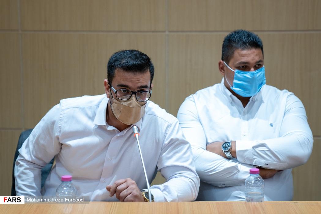 سخنرانی علی اصغر جوانمردی دارنده مقام چهارم پرتاب وزنه پارالمپیک 2020 توکیو /  سالن اجتماعات ستاد دفتر امام جمعه شیراز
