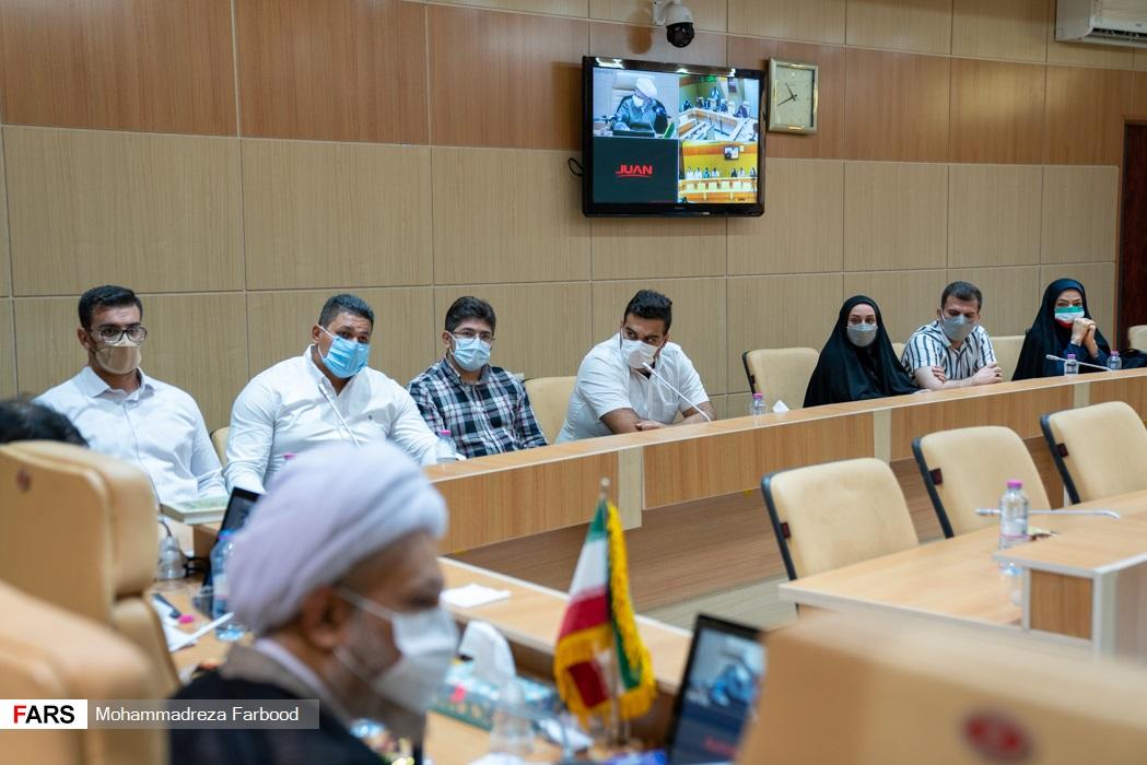 مراسم تجلیل از ورزشکاران و مدالآوران شیرازی پارالمپیک 2020 توکیو /  سالن اجتماعات ستاد دفتر امام جمعه شیراز