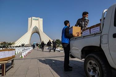 کمک مومنانه و مواسات در رزمایش بزرگ طرح شهید حاج قاسم سلیمانی