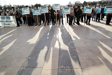 رزمایش بزرگ طرح شهید حاج قاسم سلیمانی در میدان آزادی