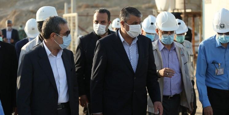 بازدید رئیس  سازمان انرژی اتمی از نیروگاه هستهای بوشهر