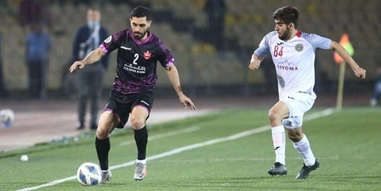 لیگ قهرمانان آسیا  توقف پرسپولیس مقابل استقلال در نیمه اولی کم موقعیت