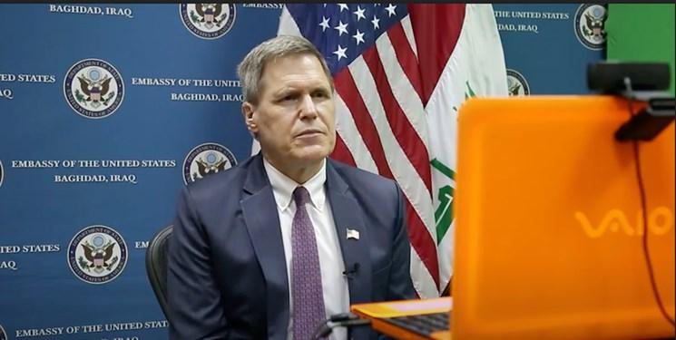سفیر واشنگتن: هر گونه حضور ایران در عراق، علیه آمریکاست