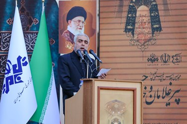 مداحی حاج تقی جابری در اجلاس بینالمللی تجلیل از پیرغلامان و خادمان حسینی در تبریز