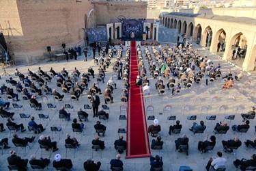 اجلاس بینالمللی تجلیل از پیرغلامان و خادمان حسینی در مسجد کبود تبریز