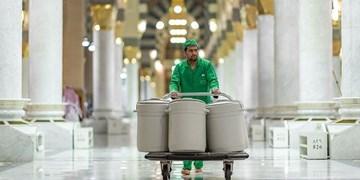کلمنهای آب زمزم پس از دو سال به حرمین شریفین بازگشتند+عکس و فیلم