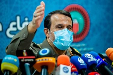 سردار بهمن کارگر رئیس ستاد مرکزی گرامیداشت  مناسبتهای ملی دفاع مقدس و مقاومت