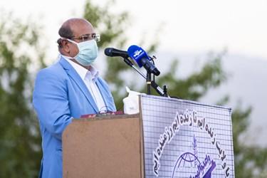 سخنرانی دکتر علیرضا زالی در رزمایش حیاتبخش مقابله با کرونا