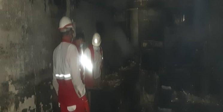 ۴ مجروح در انفجار لوله گاز در اهواز