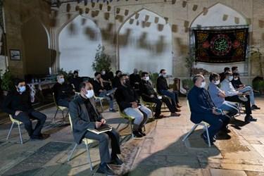 سی و ششمین شب شعر عاشورایی در آستان مقدس حضرت علی ابن حمزه (ع) شیراز