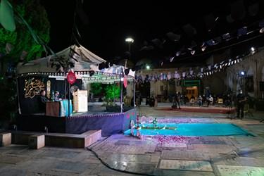 نخستین شب از سی و ششمین شب شعر عاشورایی در آستان مقدس حضرت علی ابن حمزه (ع) شیراز