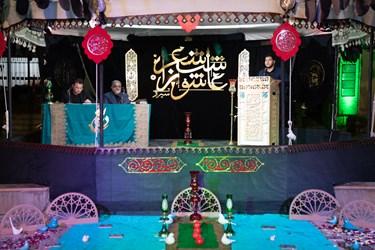 شعر خوانی علی صادقی از جهرم در سی و ششمین شب شعر عاشورایی / آستان مقدس حضرت علی ابن حمزه (ع) شیراز