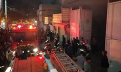 نجات ۲ شهروند کرمانشاهی از میان دود و آتش