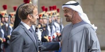 دیدار ولیعهد ابوظبی با رئیسجمهور فرانسه در پاریس