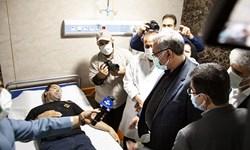 فیلم  در سفر وزیر بهداشت به کرمانشاه چه گذشت؟