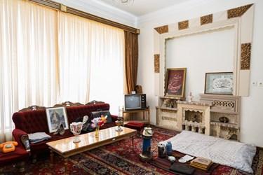 نمایی از اتاق استاد در خانه و موزه ادبی استاد شهریار