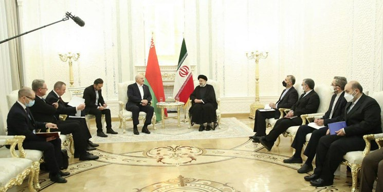 رئیسی در دیدار رئیسجمهور بلاروس: به دنبال توسعه مناسبات اقتصادی در منطقه هستم/ تاکید بر اجرای توافقات مشترک