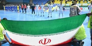 جام جهانی فوتسال  صعود ایران به مرحله دوم با شکست آمریکا