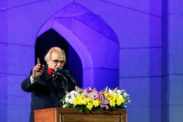 سخنرانی  علی اصغر شعردوست در  همایش ملی روز شعر و ادب فارسی و بزرگداشت استاد شهریار