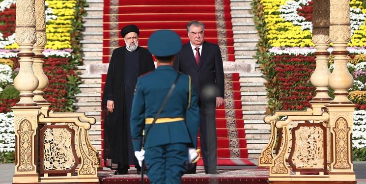 استقبال رسمی امامعلی رحمان از آیت الله رئیسی