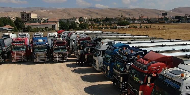 کاروان جدیدی از تانکرهای حامل سوخت ایران با عبور از مرز سوریه وارد لبنان شد