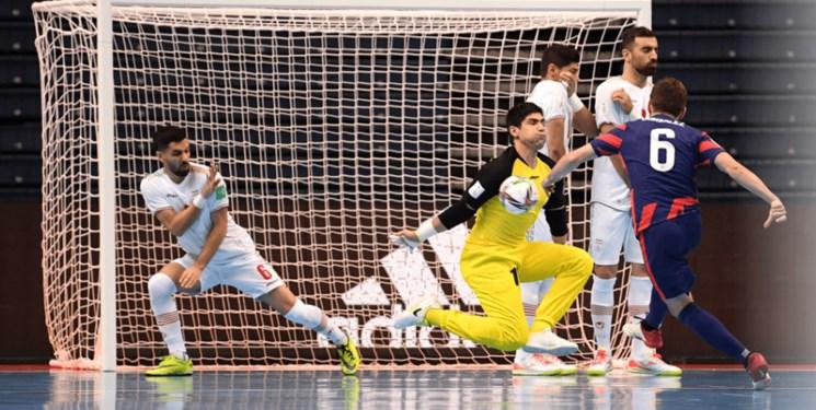 جام جهانی فوتسال ایران مقابل مدافع عنوان قهرمانی مغلوب شد/ مصاف آسیایی ها در مرحله حذفی