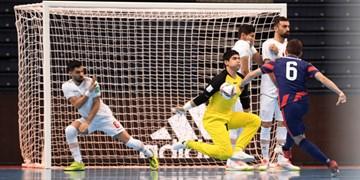 جام جهانی فوتسال|ایران مقابل مدافع عنوان قهرمانی مغلوب شد/ مصاف آسیایی ها در مرحله حذفی