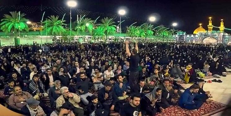 10 روز عزاداری ایرانیان با حضور منبریها و مداحان شاخص در کربلای معلی