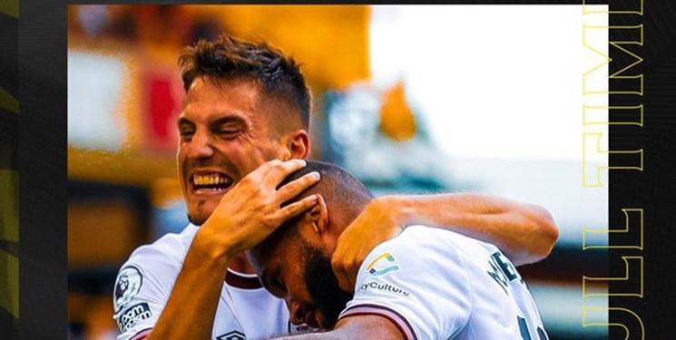 لیگ برتر انگلیس   پیروزی برنتفورد مقابل ولورهمپتون بدون قدوس