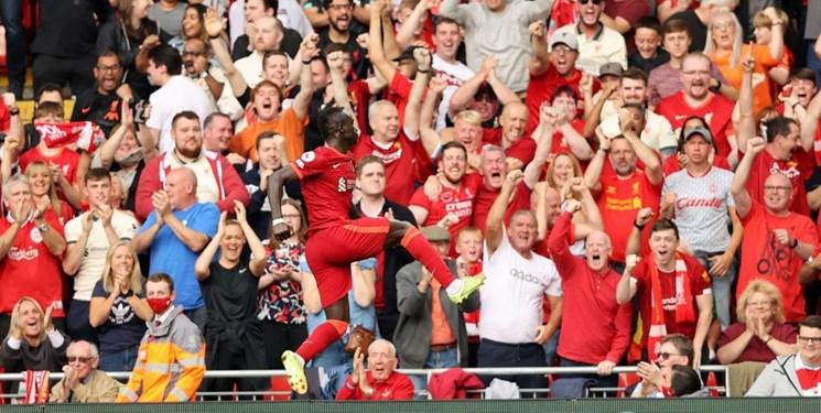 لیگ برتر انگلیس   پیروزی لیورپول در شب رکوردزنی ستاره ها / دومین برد آرسنال و توقف من سیتی
