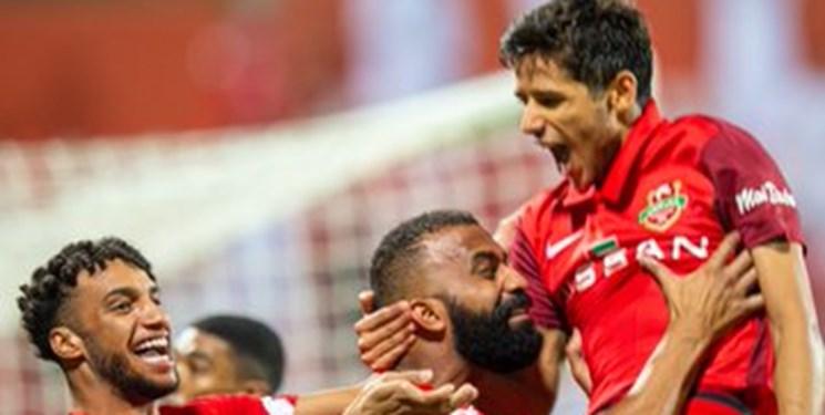 لیگ فوتبال امارات پیروزی شباب الاهلی مقابل شارجه با درخشش خیره کننده قائدی