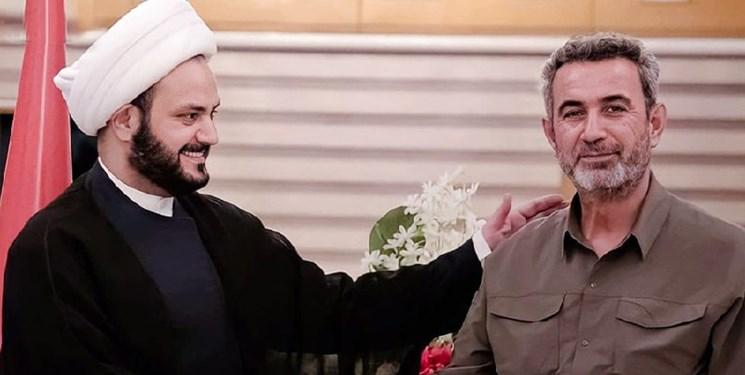 دیدار دبیرکل نُجَباء با رئیس الحشد الشعبی