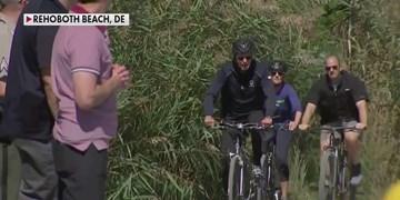 فاکس نیوز؛ دوچرخه سواری بایدن در ساحل دریا در بحبوحه بحرانهای ملی آمریکا