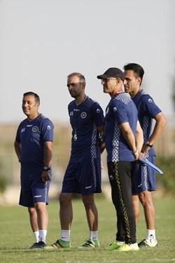 گزارش تصویری از تمرین سپاهان زیر نظر نوید کیا/حضور باانگیزه مغانلو و ریگی
