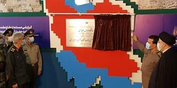 نمایشگاه «در لباس سربازی» با حضور رئیس جمهور افتتاح شد