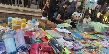 بوی ماه مهر در بازار قزوین/ نوشتافزار داخلی بیشتر از لوازم التحریر خارجی گران شد