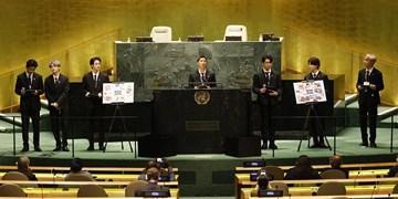 مبارزه غربی ـ کره ای با چین به سبک کی پاپ/«بی تی اس» در سازمان ملل درباره آب و هوا گفتند