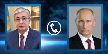 گفتوگوی رؤسای جمهور قزاقستان و روسیه؛ توسعه روابط محور رایزنی