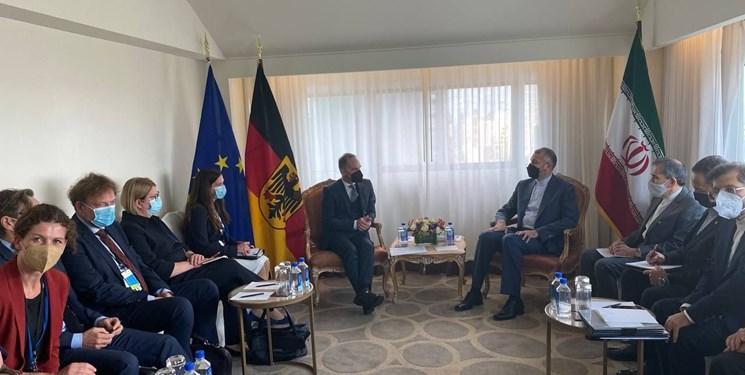 دیدار امیرعبداللهیان با وزیر امور خارجه آلمان در نیویورک؛ سیاست قطعی دولت سیزدهم گره نزدن اقتصاد داخلی به برجام است