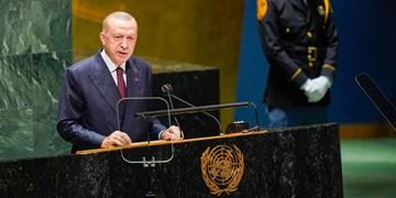 مجمع عمومی  اردوغان: ترکیه نمیتواند موج جدید مهاجران را تحمل کند